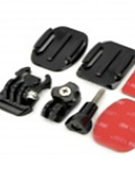 TOZ TZ-GP105  Square + Oval Mount + Screw + 3M Adhesive Tape Set Accessories for Sony AS15 / AS30 / Rollei