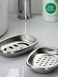 "Orange ® 2Set  Soap Dish  Bathroom Storage Rack,304#Stainless Steel L5.5""*W3.7""*H1.05"""