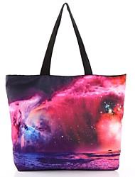 Elonbo The Vagaries of The Stars Style Digital Painting Environmental Protection Shopping Bag Shoulder Bag