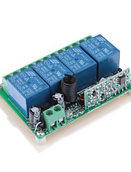 DDR1 DC 12V 4-Channel Multifuncional Wireless Switch para RC porta / janela / Controle Industrial