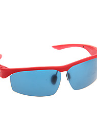 Mode MP3 Bluetooth confortable et pratique intelligente Lunettes (Rouge)