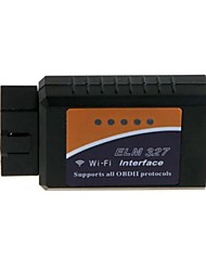 ELM327 WIFI OBD2 OBD II auto diagnostica Scanner lettore con fili per iPhone