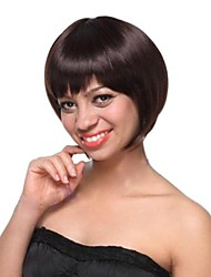 Capless Short  High Quality Synthetic Hair  Wigs