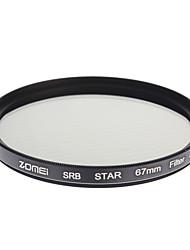 ZOMEI Camera ottici professionali cornice Stelle 4 Filter (67 millimetri)