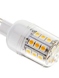 3W G9 LED Corn Lights T 27 SMD 5050 350 lm Warm White Dimmable AC 220-240 V