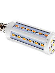 10W E14 LED a pannocchia T 42 SMD 5730 800 lm Bianco caldo AC 220-240 V