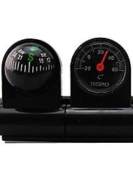 Car-usato termometro e bussola 2 in One