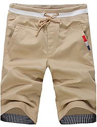Men's Shorts , Casual Cotton