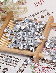 Wedding Décor Crystal Clear Diamond Confetti  Party Favor - Set of 200 Pieces (More Sizes)