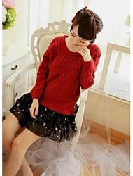 Version coréenne des femmes de La Nouvelle mousseline de soie Jupes