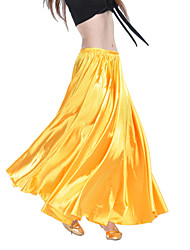 Belly Dance Skirts Women's Training Satin
