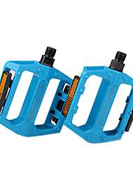 Pedal CoolChange aleación de aluminio antideslizante MTB de la bici azul