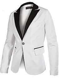 Herren V-Ausschnitt Slim-Anzug