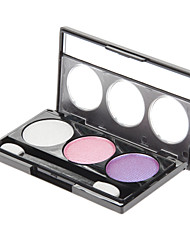 3 Eyeshadow Shimmer Eyeshadow palette Powder Normal