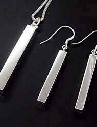 Rectangular Jewelry Set