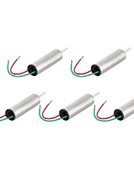 Jtron Model Aircraft Motor / Magnetic Coreless Motor - Silver (3.7 V66000 RPM / 5 PCS)