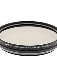 Nicna ND2~ND400 Premium Digital Fader ND Filter(67mm)