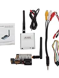 FPV 5.8G 500mW Wireless Audio Transmitter Vidéo AV Sender TS58500 + Récepteur RC5808