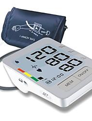 Upper Arm Blood Pressure Monitor (0~280mmHg, ±3mmHg, 4xAA Battery)