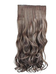 High Quality Synthetic 20 Inch Long Wavy Hairpiece Stlylish Hair Extension 3 Colors Available