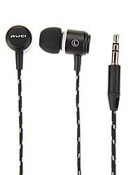 awei q35 extra bass in-ear oortelefoon (assorti kleur) voor iphone6 / iphone6 plus