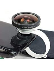 Universal Circular Clamp 0.4X Super Wide Angle Camera Lens for Mobile Phones
