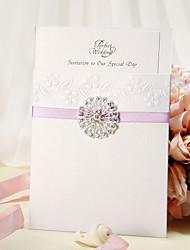 Non-personalized Wrap & Pocket Wedding Invitations Invitation Cards