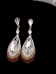 Tango Fashion Jewelry Rhinestone Studs/Earrings(Coffee,Blue,WhiteEZ0176)