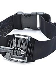 TOZ TZ-GP102 QT05D + K3 Elastic Nylon + plástico + aço inoxidável Armband + Suporte Conjunto para GoPro