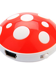 Mushroom Modello Mini Cartoon Digital Mp3 Player