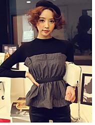 Lavoro a maglia delle donne Verifica Splice Tweed Vintage Mezzo Tops