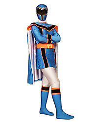 Power Ranger Mahou Sentai Magiranger Magi Blue Women's Cosplay Costume