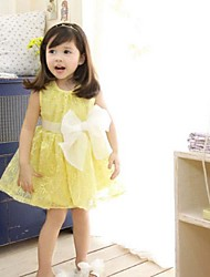 Girl's Dress Cotton / Chiffon Summer