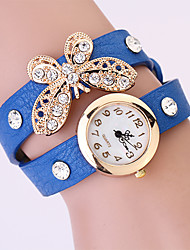 Koshi 2014 Feminina Bow Diamonade 2 Round Watch (Royal Blue)