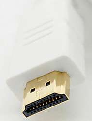 HDMI V1.4 M / M Cable para HDTV White (8M)