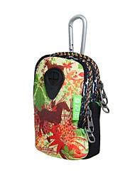 SBR Multipropósito Teléfono impermeable carpeta dominante de la bolsa del bolso con doble capa y la barra de tiro