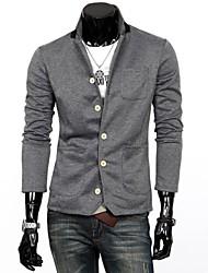 Slim costumes stand de tricot pour hommes