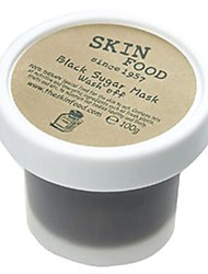 [SKINFOOD] Black Sugar Mask Wash Off Gold