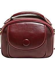 NEWE Women's Genuine Leather Lovely Handbag  Women Messenger Bag  Crossbody  Bag