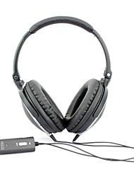 MEIEGO Portable Casque Noir DJ, Casque antibruit