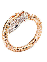 Belly Dance Accessories Alloy Rhinestone Arm Bracelet For Women