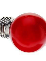 0.5W E26/E27 Ampoules Globe LED G45 7 Dip LED 50 lm Rouge Décorative AC 100-240 V