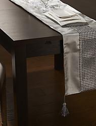 Luxury Metal Beads Design Table Runner