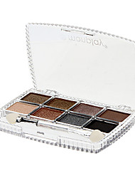 Magique de charme 8 Couleur Eye Shadow Compact (N ° 1 de couleur)