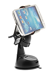 Black Easy-romoving Car Anti-vibration Cellphone Mount Clip Holder