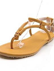 женская плоским пятки флип-флоп сандалии обувь (больше цветов)