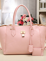 INLEELA Süße Mode tragbaren Oblique Bag (Pink)