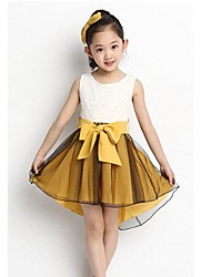 Fleur de mode de robes vintage Belle Robes d'été princesse de fille
