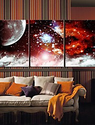 Toiles Art Paysage Star Universe Lot de 3