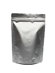 Bleuets 13*18cm Rounded Corner Of Vertical with Zipper Seal Light Sides Aluminum Pure Foil Bags
